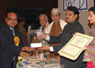 Sukhdev Komal's received Nav Ratan Award